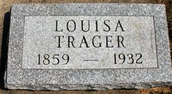 TRAGER, LOUISA - Mahaska County, Iowa | LOUISA TRAGER
