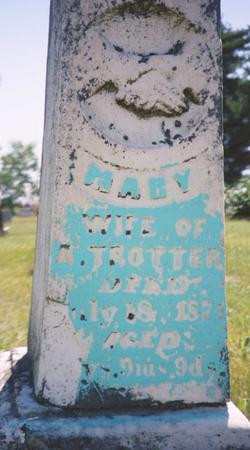 TROTTER, MARY - Mahaska County, Iowa | MARY TROTTER
