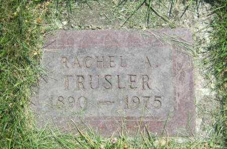 TRUSLER, RACHEL A - Mahaska County, Iowa | RACHEL A TRUSLER