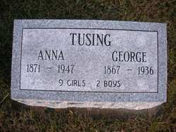 TUSING, GEORGE - Mahaska County, Iowa | GEORGE TUSING