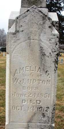 UPTON, AMELIA G. - Mahaska County, Iowa | AMELIA G. UPTON