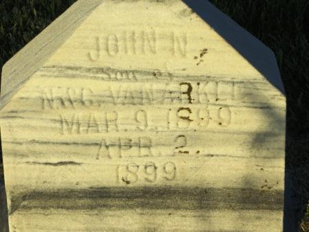 VAN ARKLE, JOHN N. - Mahaska County, Iowa | JOHN N. VAN ARKLE