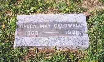 CALDWELL VANCE, DELLA MAY - Mahaska County, Iowa | DELLA MAY CALDWELL VANCE