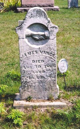 VANCE, JAMES - Mahaska County, Iowa | JAMES VANCE