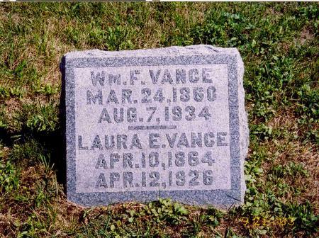 VANCE, WILLIAM F. AND LAURA DAVISON - Mahaska County, Iowa | WILLIAM F. AND LAURA DAVISON VANCE
