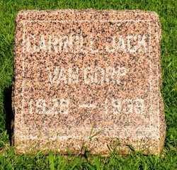 VAN GORP, CARROLL JACK - Mahaska County, Iowa | CARROLL JACK VAN GORP
