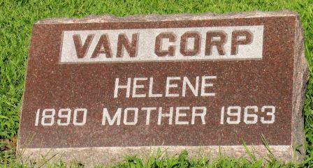 VAN GORP, HELENE - Mahaska County, Iowa | HELENE VAN GORP