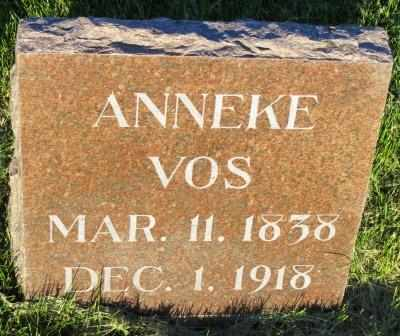 VOS, ANNEKE - Mahaska County, Iowa | ANNEKE VOS
