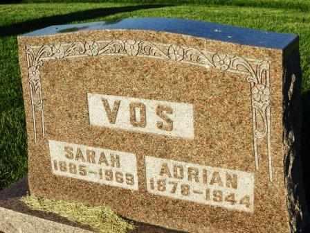 VOS, SARAH - Mahaska County, Iowa | SARAH VOS