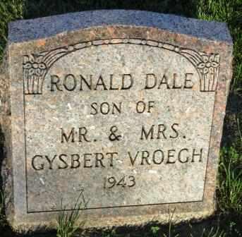 VROEGH, RONALD DALE - Mahaska County, Iowa | RONALD DALE VROEGH