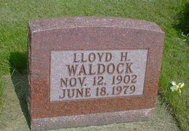 WALDOCK, LLOYD H. - Mahaska County, Iowa | LLOYD H. WALDOCK
