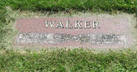 WALKER, HELEN B - Mahaska County, Iowa | HELEN B WALKER