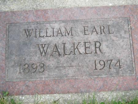 WALKER, WILLIAM EARL - Mahaska County, Iowa | WILLIAM EARL WALKER