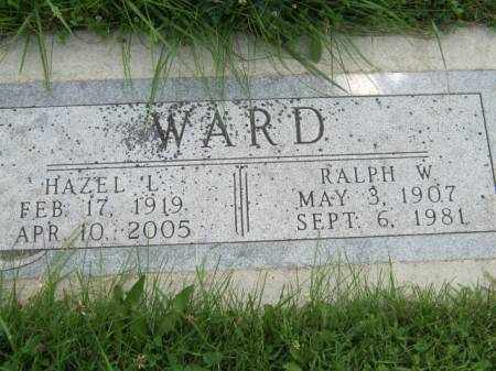 WARD, HAZEL L - Mahaska County, Iowa | HAZEL L WARD