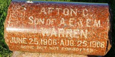 WARREN, AFTON C. - Mahaska County, Iowa | AFTON C. WARREN