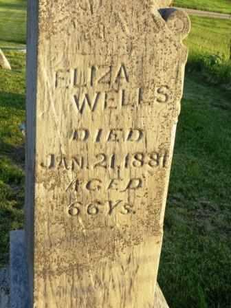 WELLS, ELIZA - Mahaska County, Iowa | ELIZA WELLS