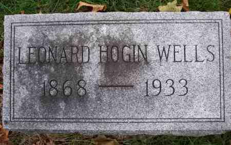 WELLS, LEONARD HOGIN - Mahaska County, Iowa | LEONARD HOGIN WELLS
