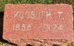 WESTERN, KOSSUTH T. - Mahaska County, Iowa   KOSSUTH T. WESTERN