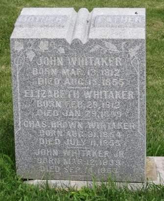WHITAKER, JOHN - Mahaska County, Iowa | JOHN WHITAKER