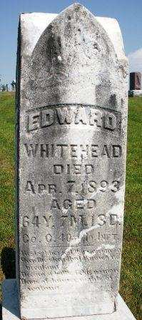 WHITEHEAD, EDWARD - Mahaska County, Iowa | EDWARD WHITEHEAD