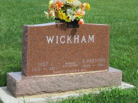 WICKHAM, INEZ - Mahaska County, Iowa | INEZ WICKHAM