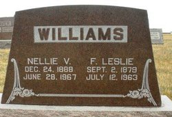 WILLIAMS, NELLIE V. - Mahaska County, Iowa | NELLIE V. WILLIAMS