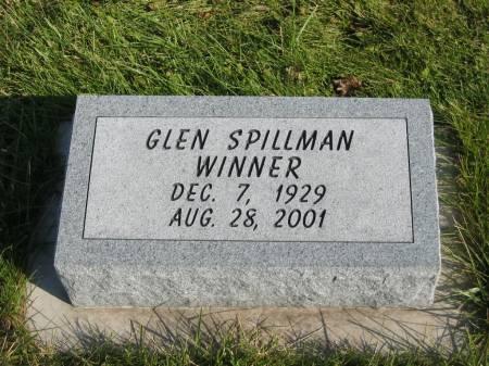 WINNER, GLEN SPILLMAN - Mahaska County, Iowa | GLEN SPILLMAN WINNER