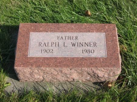 WINNER, RALPH L. - Mahaska County, Iowa | RALPH L. WINNER