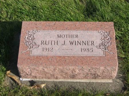 WINNER, RUTH J. - Mahaska County, Iowa | RUTH J. WINNER