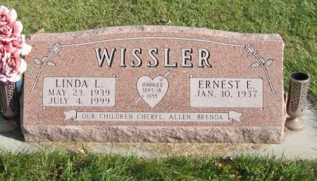 WISSLER, LINDA L. - Mahaska County, Iowa   LINDA L. WISSLER