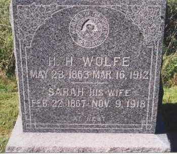 WOLFE, HARMON - Mahaska County, Iowa | HARMON WOLFE