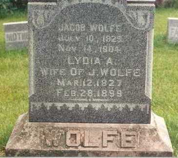 WOLFE, JACOB - Mahaska County, Iowa | JACOB WOLFE