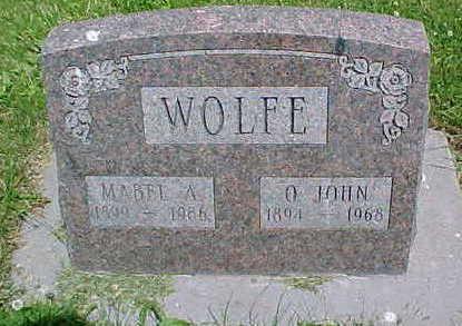 TISH WOLFE, MABEL A. - Mahaska County, Iowa | MABEL A. TISH WOLFE