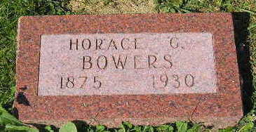 BOWERS, HORACE - Marion County, Iowa | HORACE BOWERS