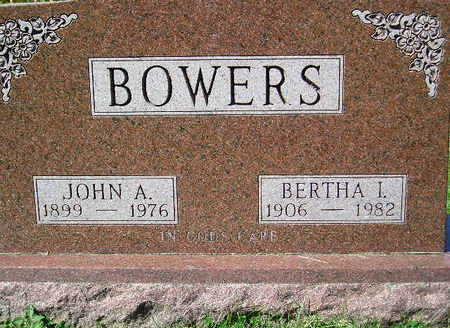 BOWERS, JOHN A. - Marion County, Iowa | JOHN A. BOWERS