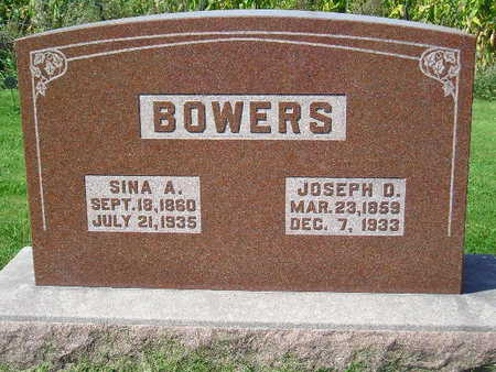BOWERS, SINA A. - Marion County, Iowa   SINA A. BOWERS