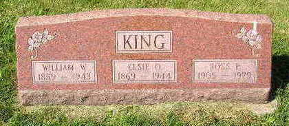 KING, WILLIAM W. - Marion County, Iowa | WILLIAM W. KING