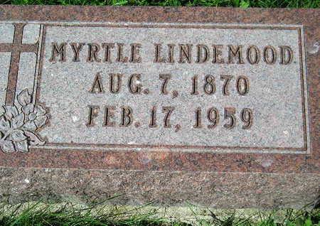 LINDEMOOD, MYRTLE - Marion County, Iowa | MYRTLE LINDEMOOD