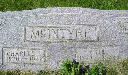 MCINTYRE, ESTE - Marion County, Iowa | ESTE MCINTYRE