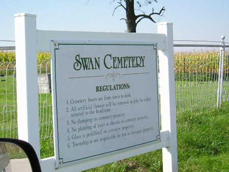 SWAN, CEMETERY - Marion County, Iowa | CEMETERY SWAN