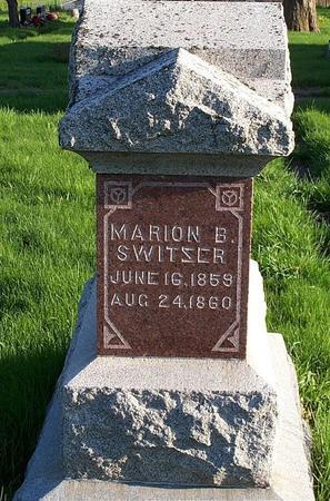 SWITZER, MARION B. - Marion County, Iowa | MARION B. SWITZER