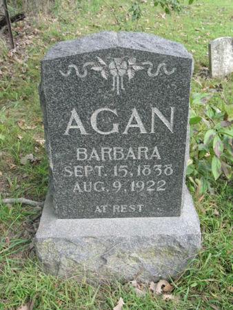 AGAN, BARBARA - Marion County, Iowa | BARBARA AGAN