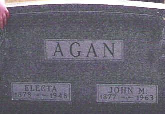 AGAN, JOHN - Marion County, Iowa | JOHN AGAN
