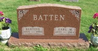 BATTEN, EARL MORKERT - Marion County, Iowa | EARL MORKERT BATTEN