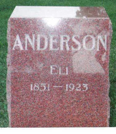 ANDERSON, ELI - Marion County, Iowa | ELI ANDERSON