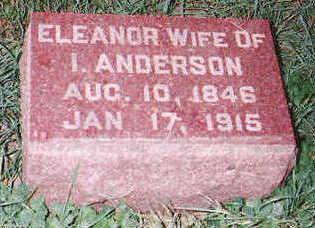 ANDERSON, ELEANOR - Marion County, Iowa   ELEANOR ANDERSON