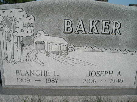 BAKER, JOSEPH A - Marion County, Iowa   JOSEPH A BAKER