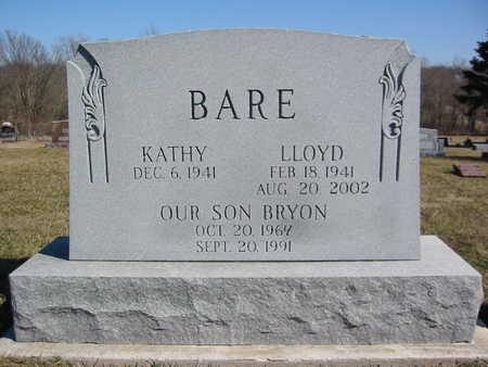 ALLEY BARE, KATHY LORENA - Marion County, Iowa | KATHY LORENA ALLEY BARE