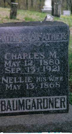 BAUMGARDNER, CHARLES M. - Marion County, Iowa | CHARLES M. BAUMGARDNER