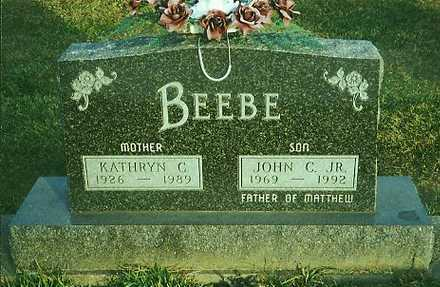 BEEBE, JOHN C JR. - Marion County, Iowa | JOHN C JR. BEEBE
